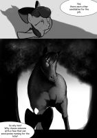 It's not my fault I'm a horse pg6 by DLowell