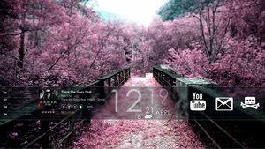 My desktop 2012.04.09 :: Purple by wineass