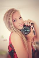 the girl behind the camera II by Blanchii