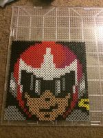 Blues/protoman perler! by TaliaNekoHime