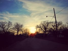 The Light At the End of the Street by XxLonerEyesxX