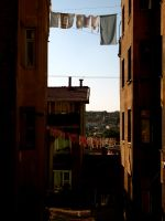 Sunning the laundry by jacobjellyroll