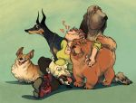 Dogs Dogs Dogs by Le-Sushi