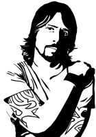 Dave Grohl by pushedbyboredom