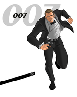 James Bond by Ferroconcrete247