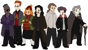 Harry Potter Revisited - Order of the Phoenix OotP by Gaiash