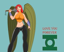 Love you John forever by Binoy11