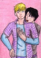 ACEO 20 - Billy and Teddy by juneyleinchen