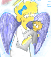 Angel Lisa and Maggie by chocolatedozycow