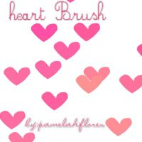 Heart Brush-bypamelahflores by pamelahflores