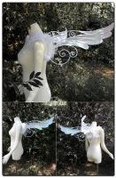 Frosty Dove Wings by Lillyxandra