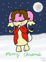 Victoria the Audino on Christmas by Mars29