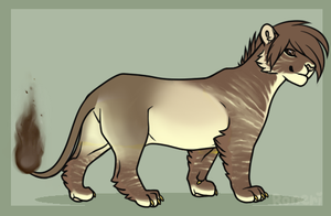 SOLD Lion Adopt by ShinAdopts