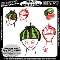 Hat Design 4: Melon head by PracticallyGeeky