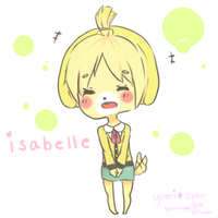 ACNL: Isabelle by Yumi-Nyan