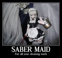 Saber Maid by AardbeiElfje
