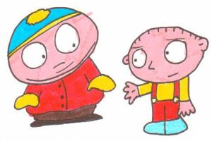Cartman Stewie friends? by cmara