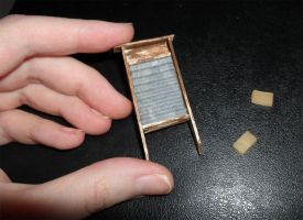 Mini Washboard and Soap by kayanah