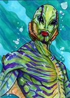 174. Abe Sapien by Christopher-Manuel