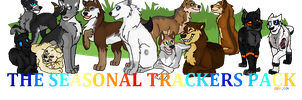 The Seasonal Trackers Pack Banner Contest Entry by lord-pinkerton