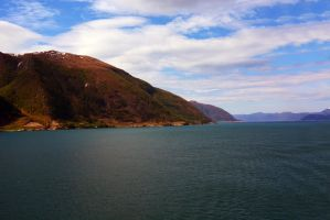 Sailing the fjords to Skjolden 14 by abelamario