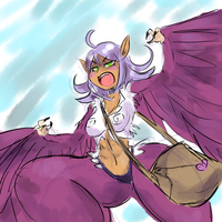 mad harpy by KirbySuperStar96