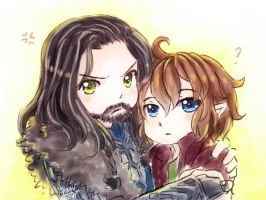 Protective majestic thorin by ibahibut