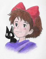 Kiki and Jiji by FifetyDaftCow