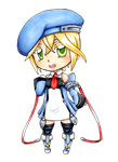 Noel Vermillion - Chibi COPIC by AbsentWhite
