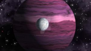 Gas Giant Nightshade with Moon Datura by squidge16
