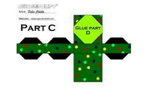 Christmas tree cubeecraft 3 by melopruppo