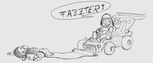 Faster ! by p00se2
