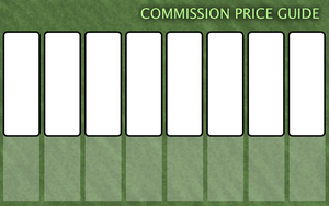 Commission Price Guide Template by FaithLeafCat
