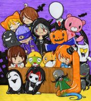 Happy Halloween. I guess. by Tokkori
