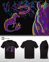 Hippocampus T-Shirt Design by Lucky-Puppy