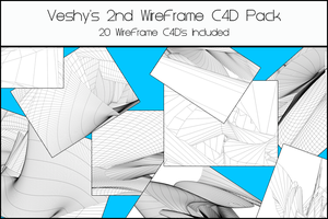 Veshy's 2nd WireFrame Pack by VeshyDesigns07