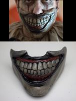 Twisty the clown face plate comission by masocha