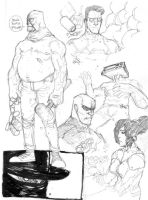 ORIGINAL CHARACTER SKETCH PAGE PT.I by COUNTPAGAN