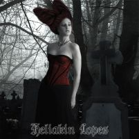 Lady of the  Cemetery 03 by Heliakin