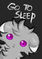 Espurr watches you OwO by La-maestra-PokemonXD