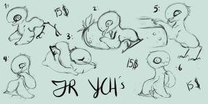 Jolle YCH [closed] by Bellisaurus