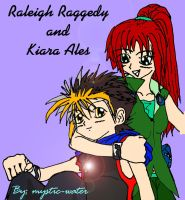 Raleigh and Kiara - Coloured by mystic-water