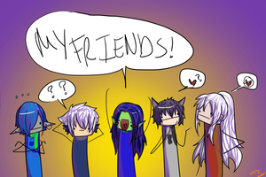 MY FRIENDS~! Collab by ay4u