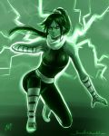Green: Yoruichi by Jeannette11