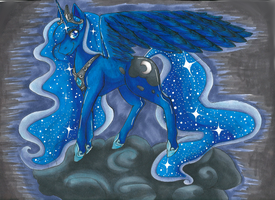 Princess Luna by buttfabric