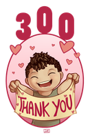 300 Watchers - Thank you!!! by Electrical-Socket