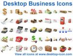 Desktop Business Icons by yourmailkept