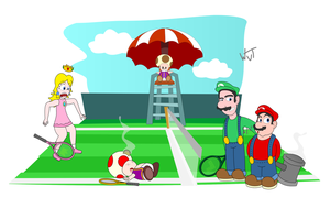 No Toad Power Tennis by BrunoTheFox