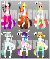Bundacoon and FoxCow Adopt Batch [3/6 Open] by MeowImaCow