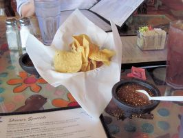 Mosaic Cafe's Chips and Hot Salsa by BigMac1212